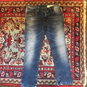 NWOT Diesel Grupeen J-El little girls jeans